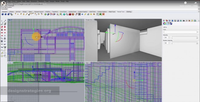 Designstrategies - Render issues for interior spaces in Rhino 6