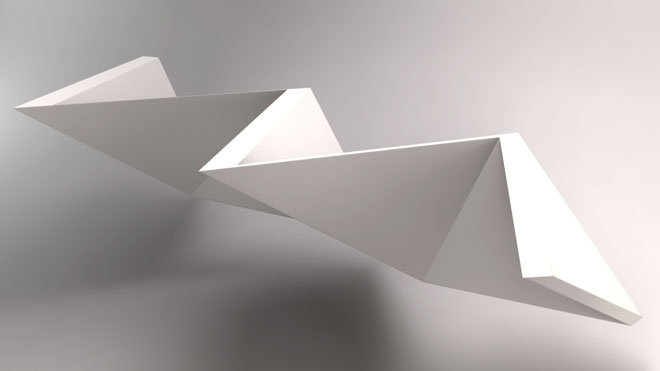 Folding based on surfaces