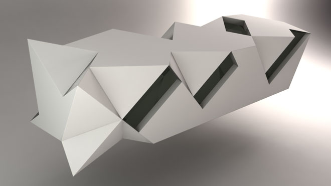 Folding based on 3D object