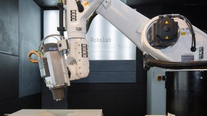 Digital fabrication with KUKA roboter