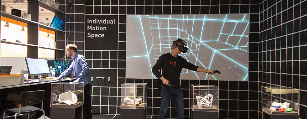 Individual motion space - Domotex 2018